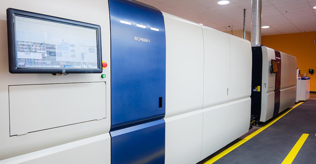 Screen Adds High-Speed Monochrome Model to Truepress Jet520HD Series