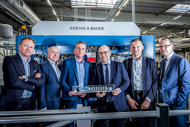 Koenig & Bauer Says There is Increased Demand for its Large-Format Rapida