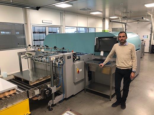 Italian Metal Decoration Printer Drives Forward Digital Possibilities in Partnership with Fujifilm