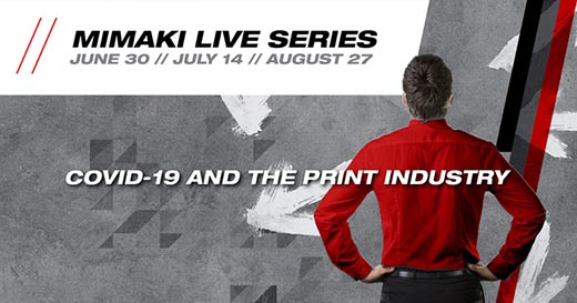 Mimaki Live Event Series Launched to Connect with Customers