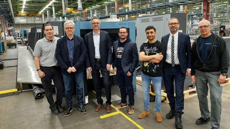 Wauters Group Goes with Heidelberg Tech for the Production of Luxury Packaging