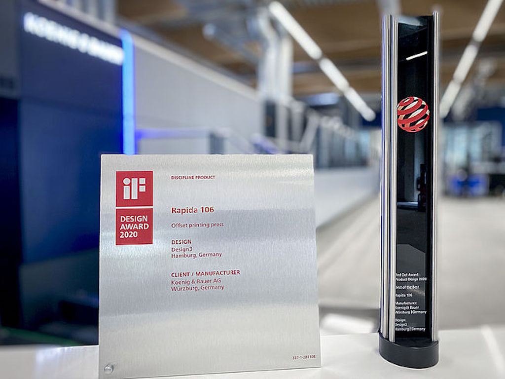 Koenig & Bauer Celebrates Award Series at Virtual Printing Fair