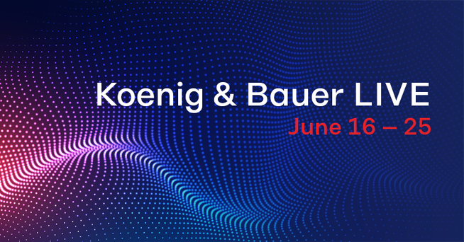 Koenig & Bauer LIVE to Show Off Exclusive Product Innovations