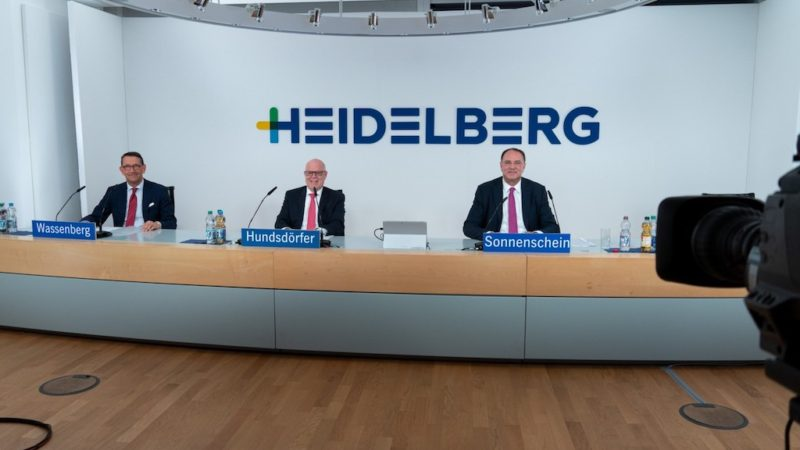 Two Shareholder Reps Appointed to the Supervisory Board at Heidelberg's Annual General Meeting
