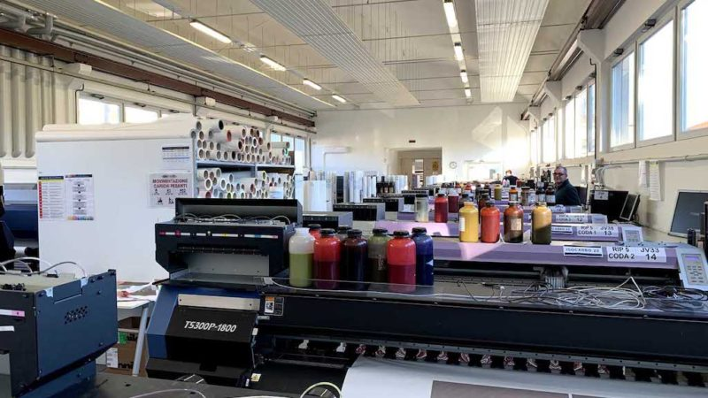 Digitak Goes for Mimaki's Sublimation and Direct Printing Solutions