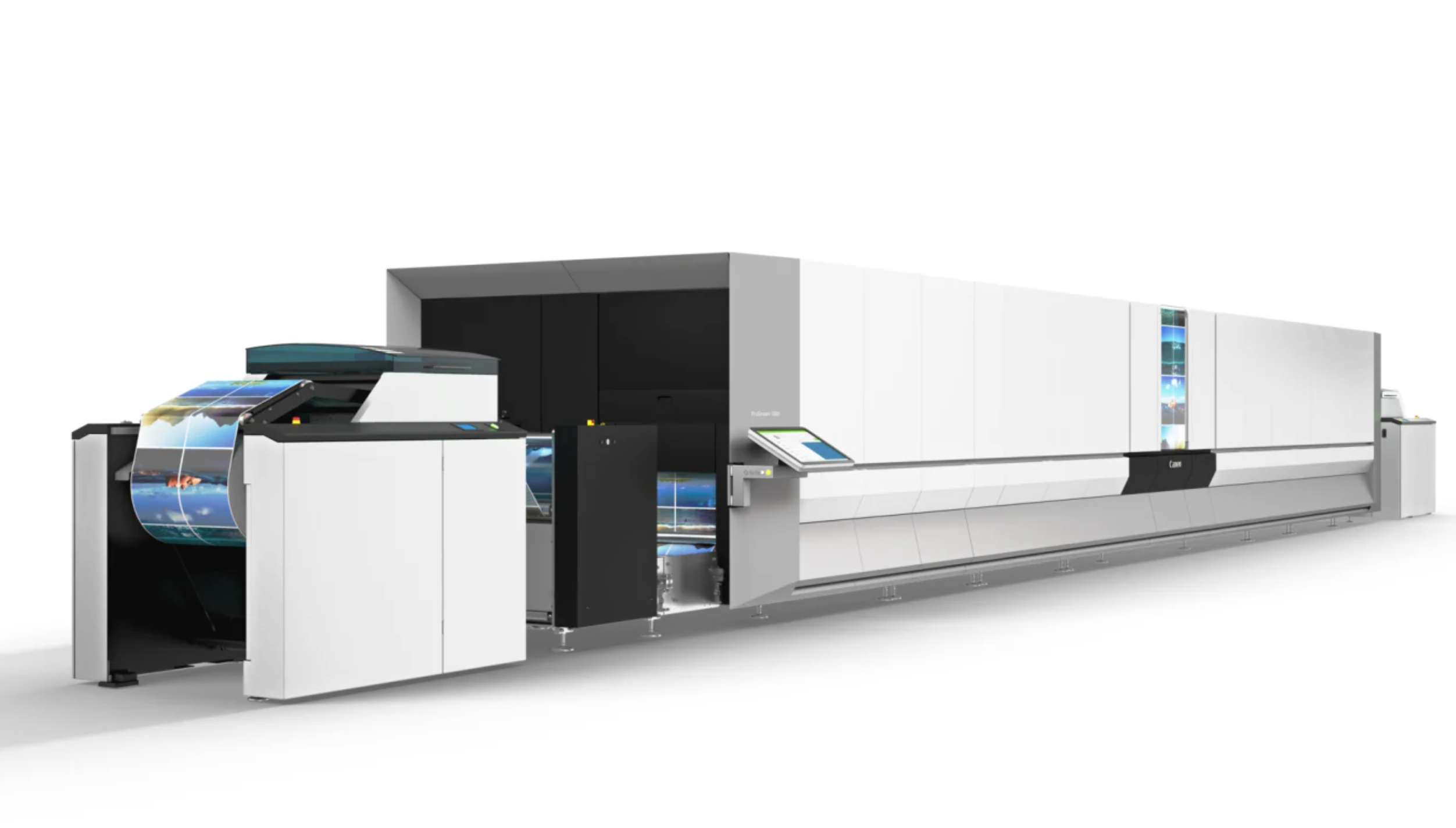 Canon Launches the ProStream 1800 Continuous Feed Inkjet Printer