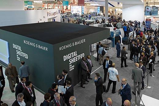 Koenig & Bauer Stands by drupa 2021