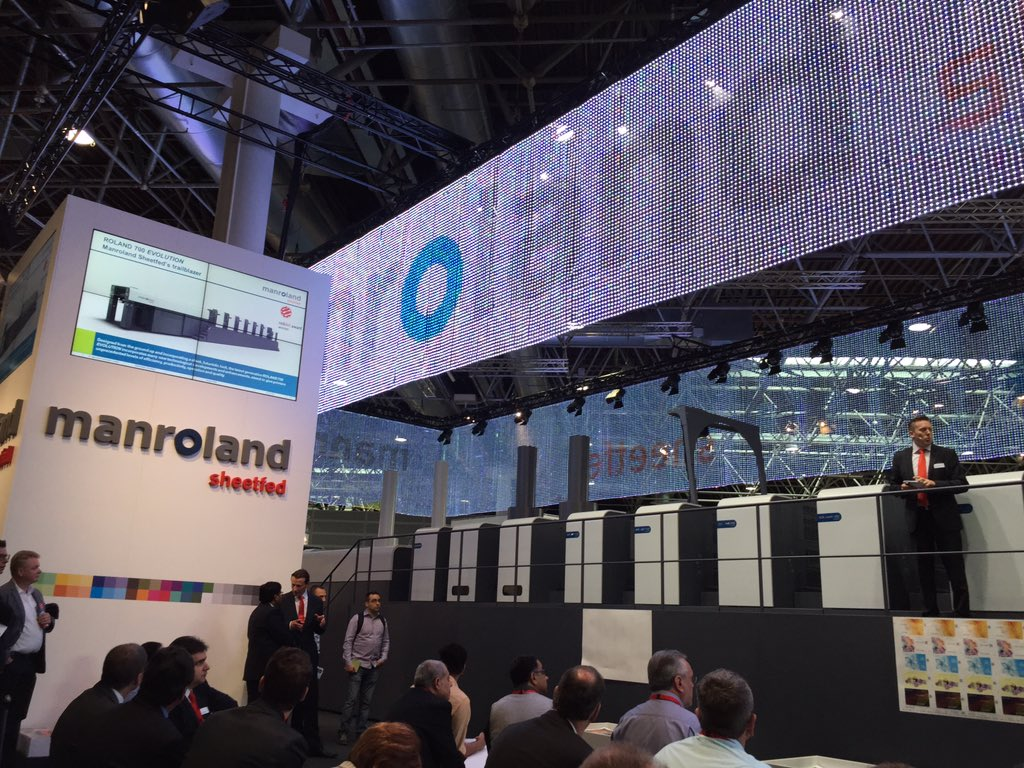 Manroland Sheetfed Drops Out of drupa 2021