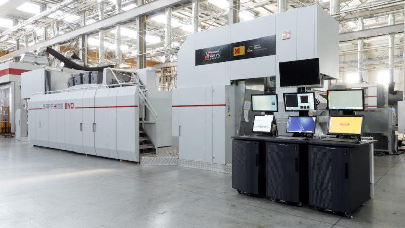 Kodak and Uteco Announce the Shipment of the Third Sapphire EVO M Press