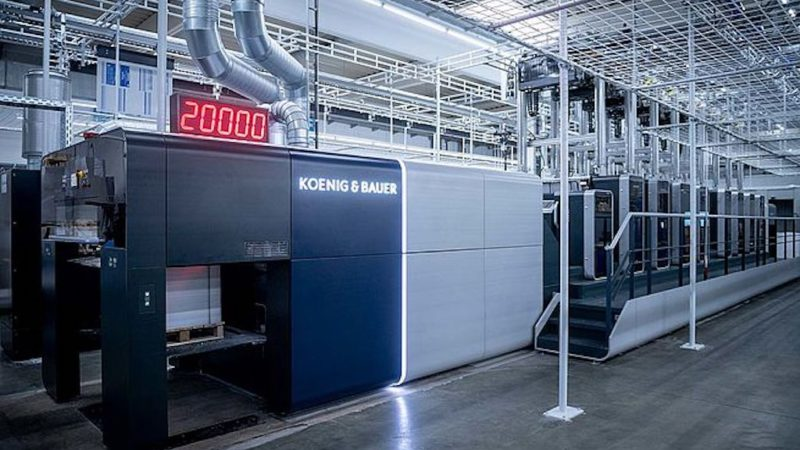Koenig & Bauer Launches Rapida 106 X Sheetfed Offset Press