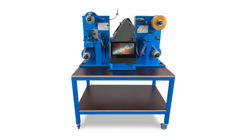 DTM Print Expands its Product Portfolio with the DTM LF140e Label Finishing System