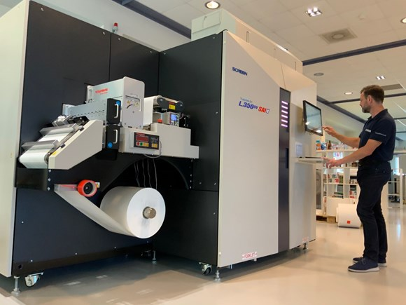 Screen Enables Remote and On-Site 'Corona-Proof' Testing of New SAI Label-Printing Tech