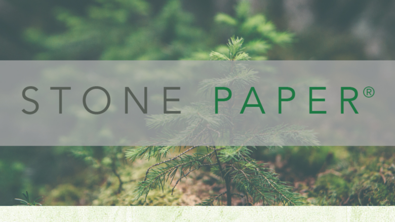 Stone Paper Intros New Repurposing Technology to Aid in an Environmentally Restorative Future