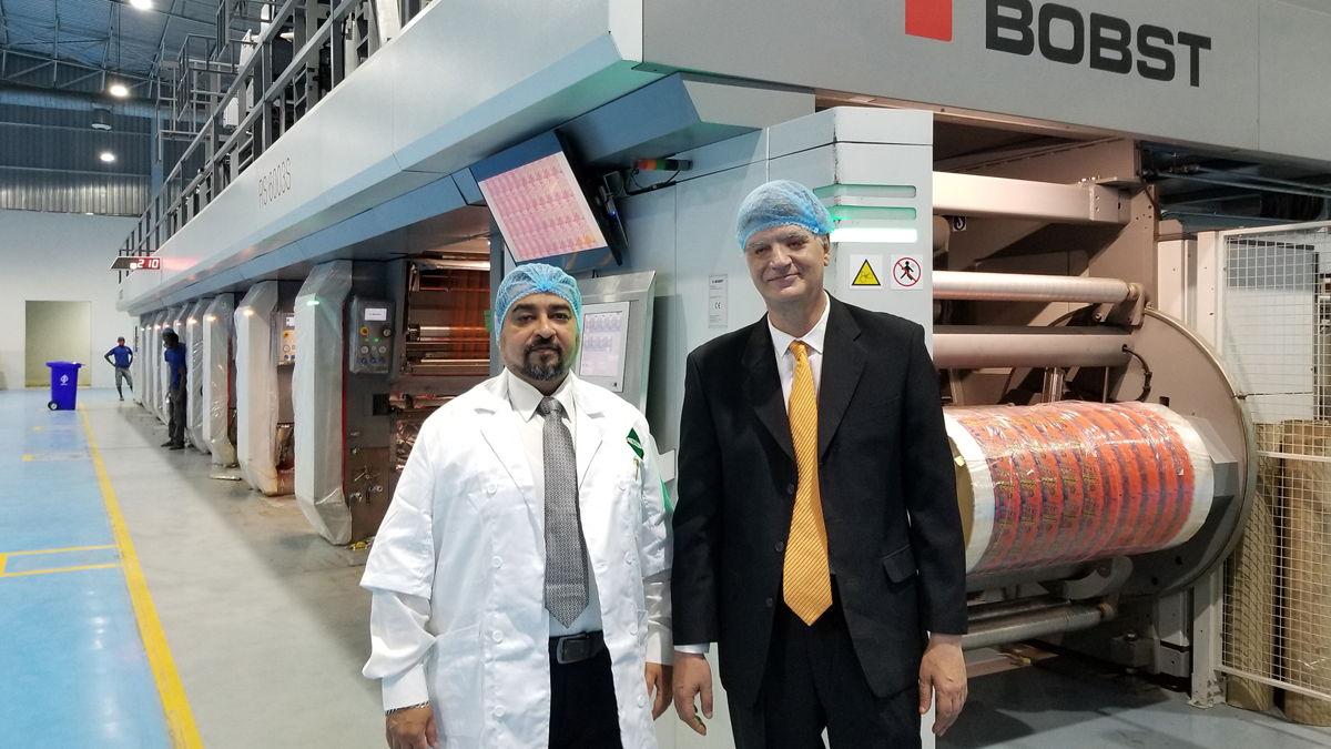 Bhojraj Industries in Nigeria Invests in BOBST Gravure Printing Tech