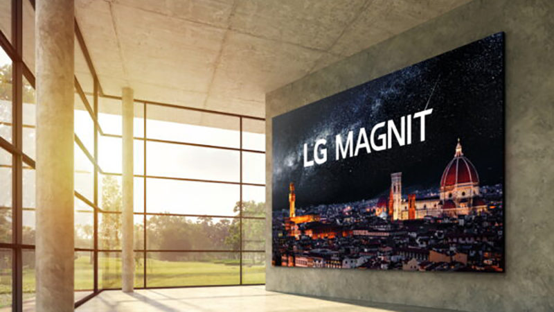 LG Electronics Launches new Micro LED Signage Solution