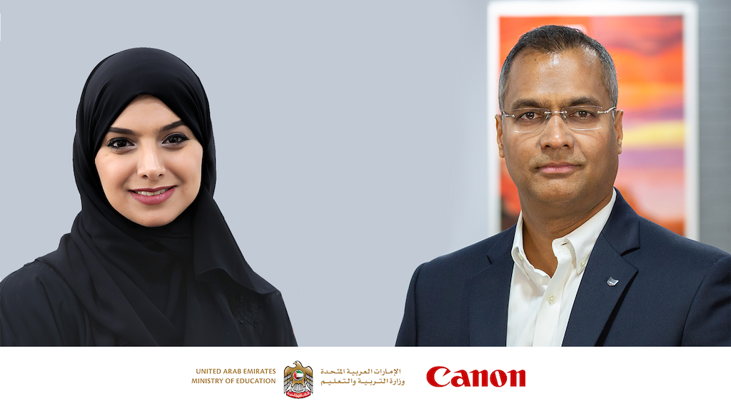 Canon Partners with the Ministry of Education for Digital Skills Development
