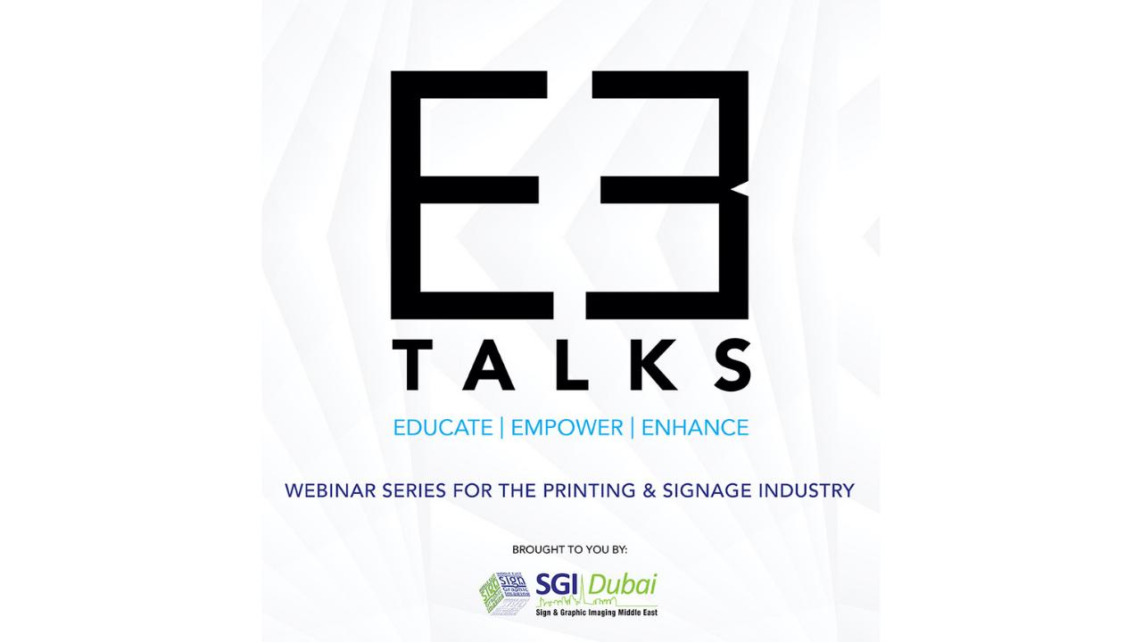 SGI Dubai Announces 'E3 Talks' Webinar Series