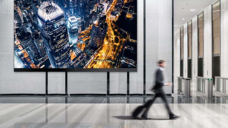 ViewSonic Launches Direct View LED Displays with Sizes of up to 216-Inches