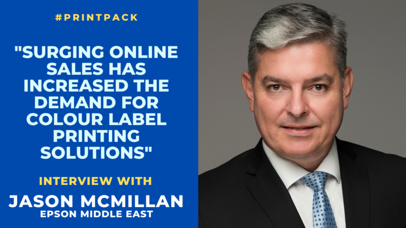 Video Interview: Surging Online Sales Has Increased the Demand for Colour Label Printing Solutions