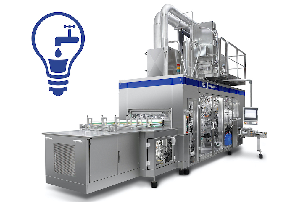 SIG Reduces Water Consumption on Filling Machines Up To 50%