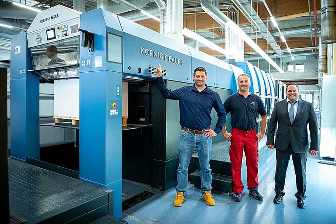 Rapida 106 Double-Coater Press Claims to Boost Performance by 30 percent
