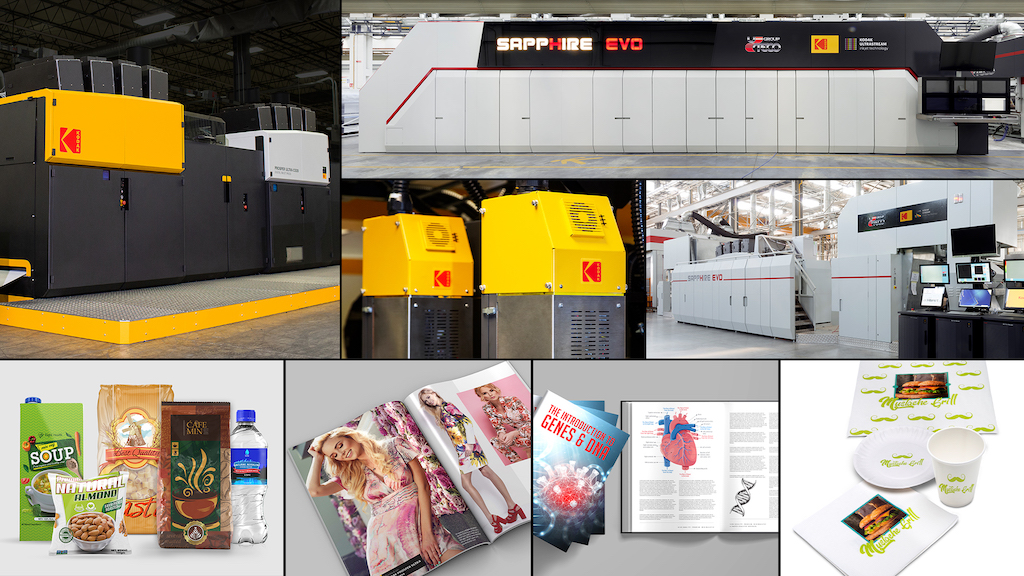 Kodak Receives Five BLI Outstanding Innovation Awards for its Continuous Inkjet Technology
