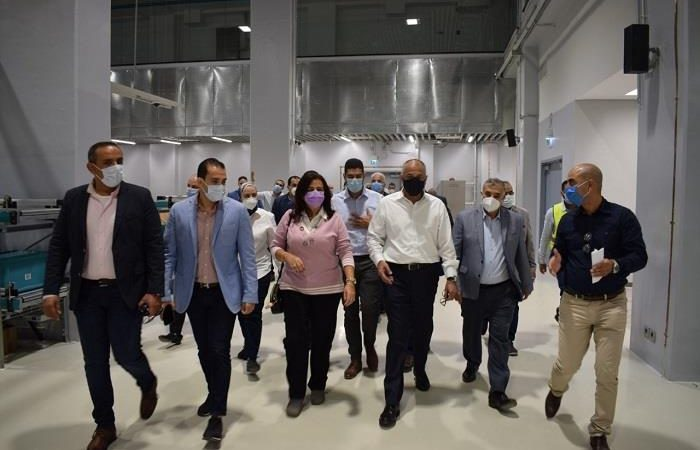 Egypt – CBE Governor Inspects Building of New Printing Press and Cash Center at NAC
