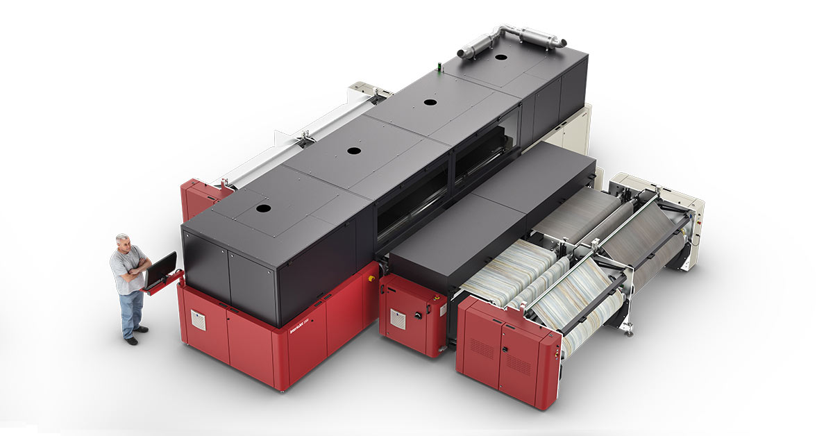 Agfa Intros InterioJet Water-Based Inkjet Printing System for Interior Decoration
