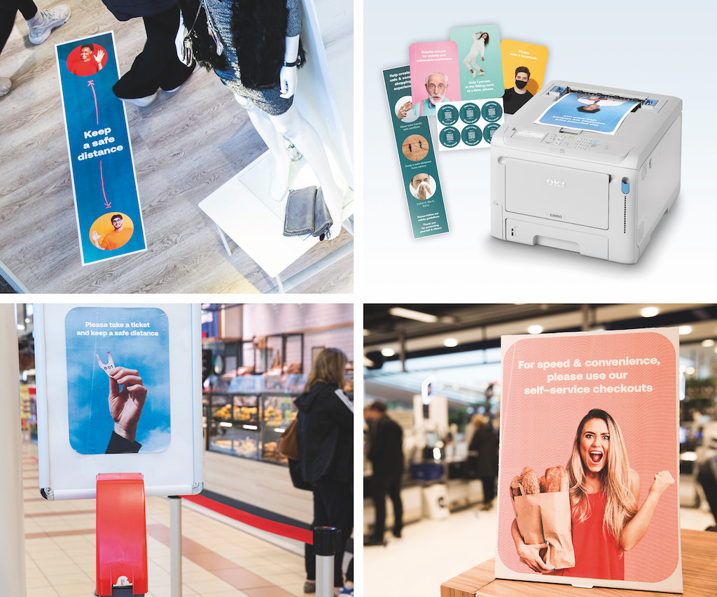 OKI Gives Retailers the Power of a Print Shop In-Store with Compact C650
