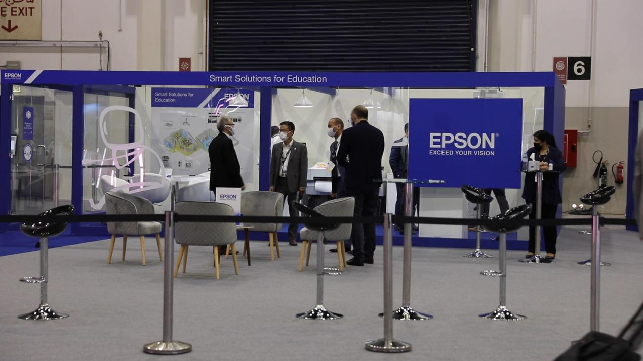 Epson Shows Off Sustainable Printing Solutions at GITEX 2020