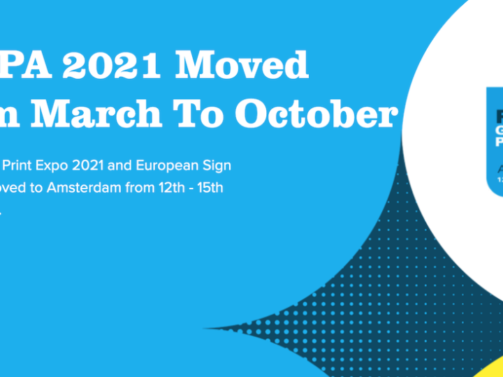 FESPA Moves 2021 Global Print Expo From March to October 2021