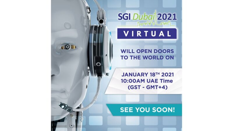 SGI Dubai 2021 Virtual to See Participation From Global Exhibitors