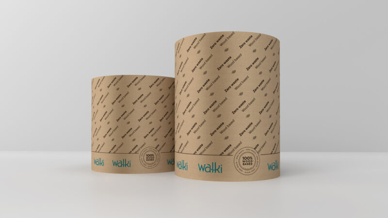 Walki Launches Wood-Based Reel Wrapping Paper