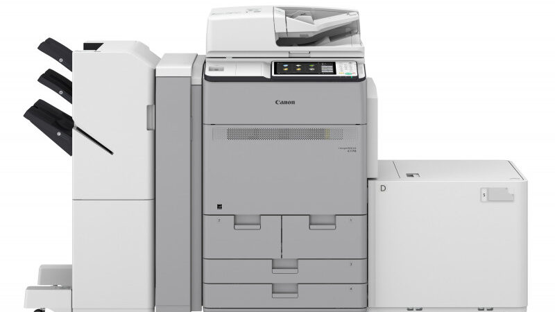 Canon Launches imagePRESS C170 Series in the Middle East