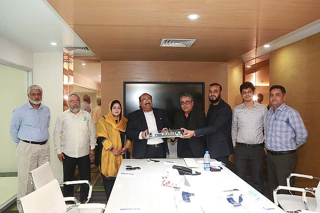 Pakistan's Vision Foods & Packaging Invests in a Six-Colour Rapida 106