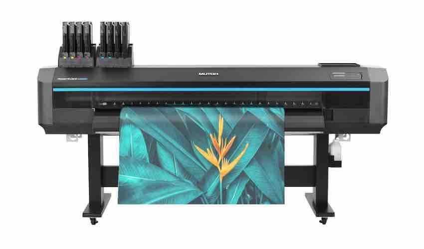 "Mutoh EMEA Launch the XpertJet 1682WR 64"" Dual Head Dye Sublimation Printer"