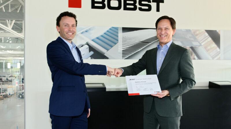 BOBST Rewards Inventor Employee for Revolutionary Embossing Detection Technology