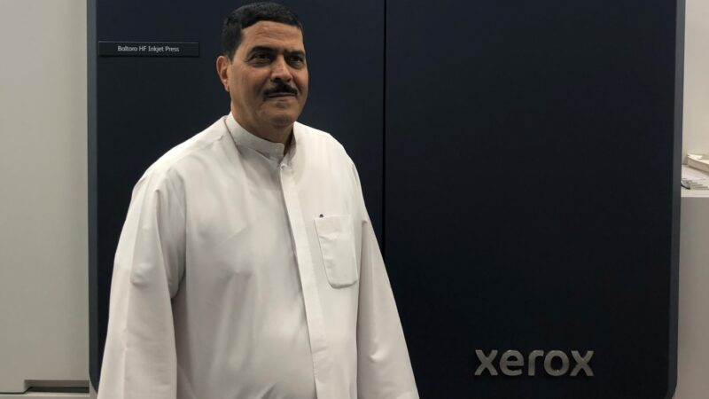 RAK National Printing Press Purchases and Installs the World's First Xerox Baltoro HF Inkjet Press with Color Accelerator