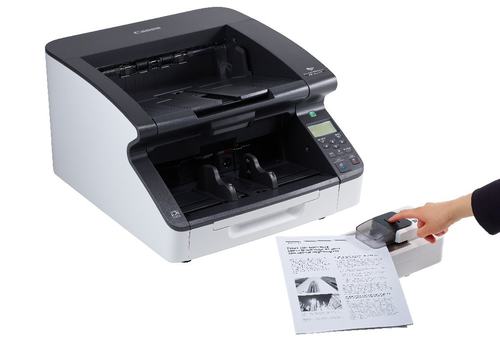 Canon Accelerates Document Digitisation with Instant Staple Remover