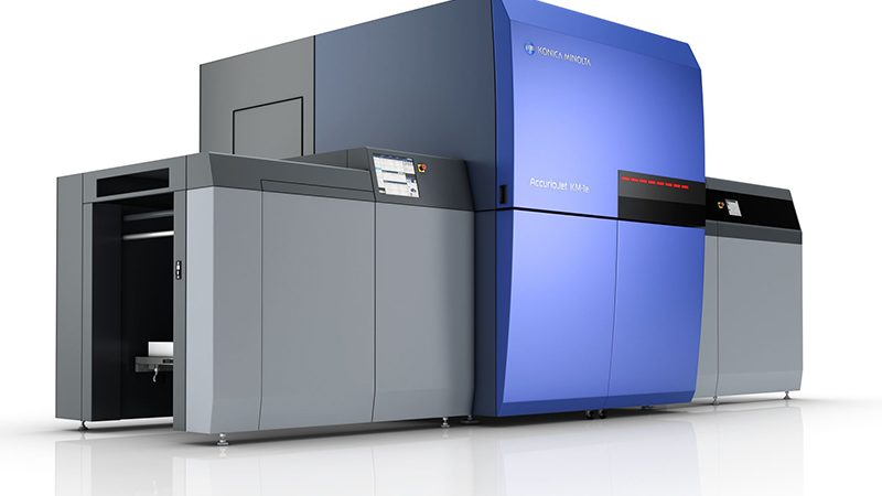 Konica Minolta's AccurioJet KM-1e Achieves Deinking Certification for Uncoated Paper