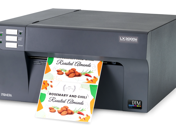 DTM Print Launches the New LX3000e Color Label Printer With 'Big Ink' System