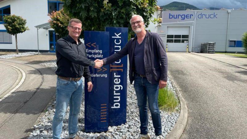 Burger Druck Invests in a Scodix Ultra 5000 Digital Enhancement Press