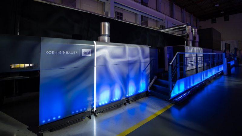 Koenig & Bauer Durst Launches VariJET 106 in World Premiere